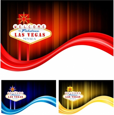Las Vegas flow backgrounds