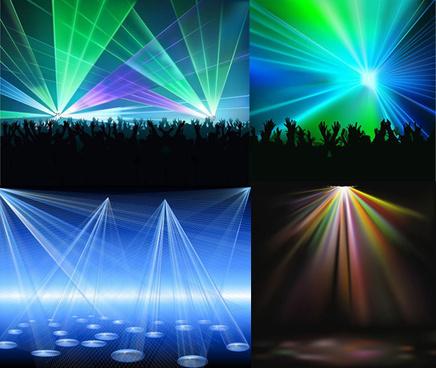 laser display background
