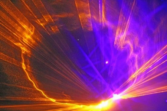 laser light colorful