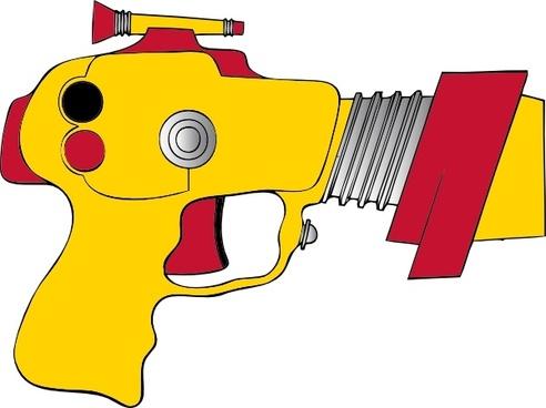 Laser Ray Gun clip art