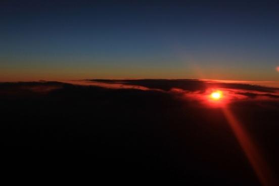 last bit of dusk