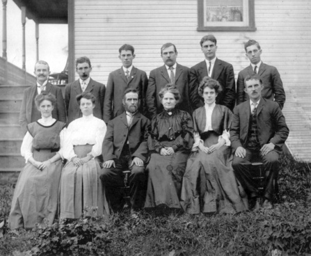 late 19th century family