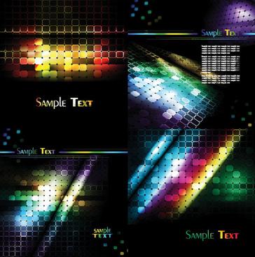 lattice glare background design vector