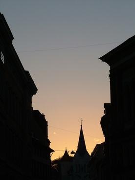 latvia riga twilight