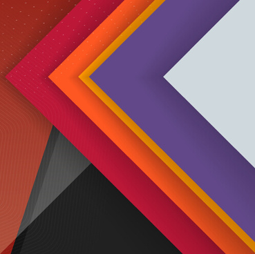 layered colored modern background vector