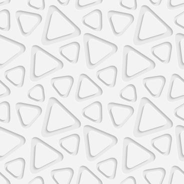 layered white vector seamless pattern