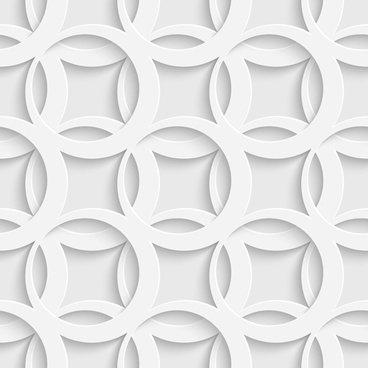 layered white vector seamless pattern