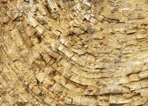 layering limestone