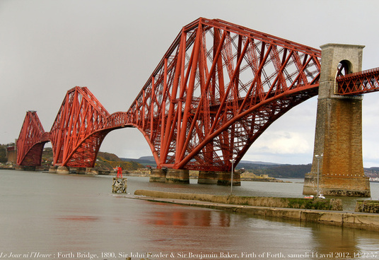 le jour ni lheure 0467 forth rail bridge 1890 south queensferry west lothian cosse royaume uni samedi 14 avril 2012 13