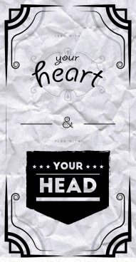 lead with your heart and plan with your head