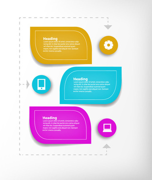 leaf infographic icon vector design