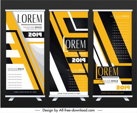 leaflet templates modern technology decor