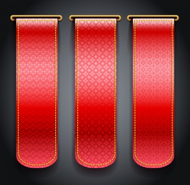 leather decorative template shiny red decor