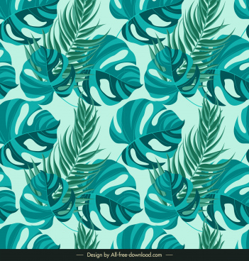 leaves background classic green decor