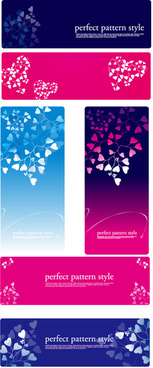 leaves of floral card design vector