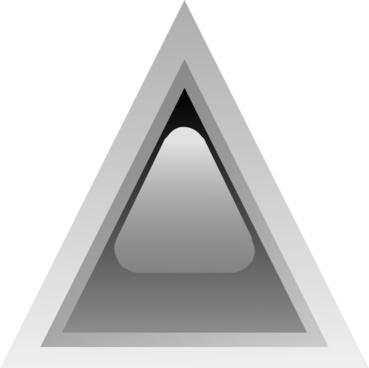 Led Triangular 1 (black) clip art