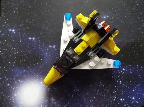 lego aircraft space travel