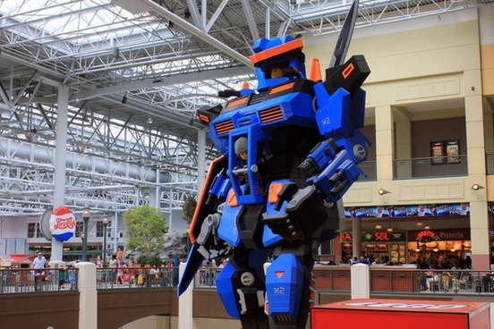 lego transformer in minneapolis minnesota