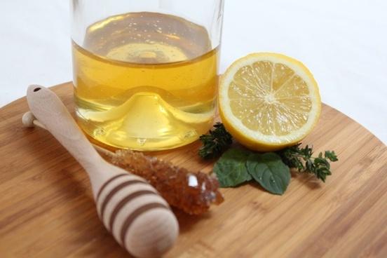 lemon citrus fruits mint
