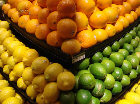 lemon lime and orange