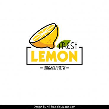 lemon logotype slice cut sketch colored handdrawn 3d