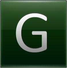 Letter G dg