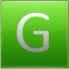 Letter G lg