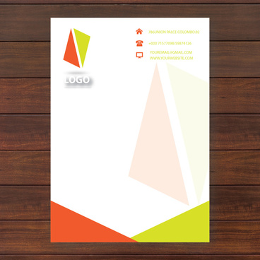 vector letter headed paper free vector download 8 068 free vector