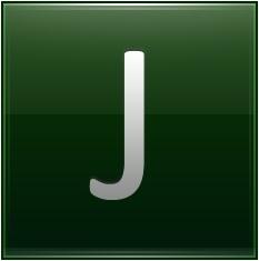 Letter J dg