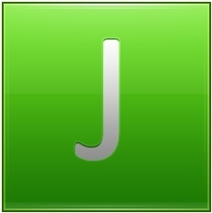 Letter J lg