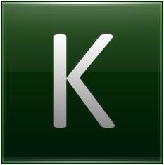 Letter K dg