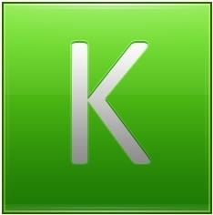 Letter K lg