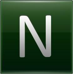 Letter N dg
