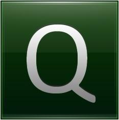 Letter Q dg