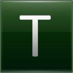 Letter T dg