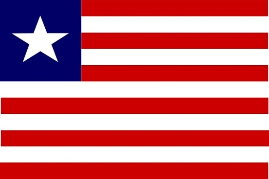 Image result for liberia flag