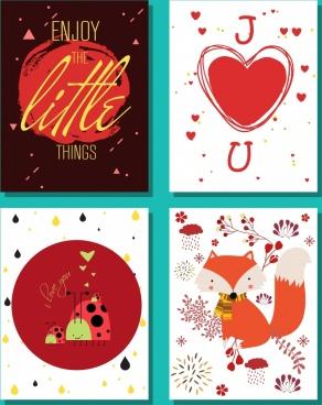 life background sets red design