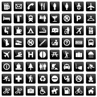 life common icon vector
