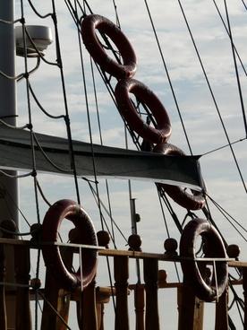 lifebuoys boot ship