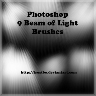 Light Beam Brushes