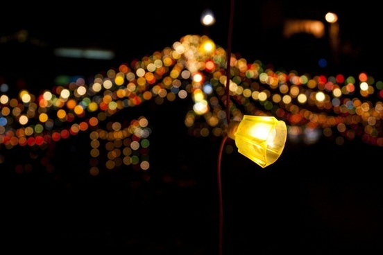 light bokeh background