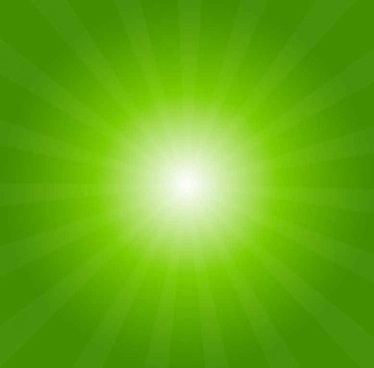 light burst abstract green background vector
