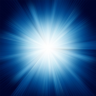 light burst effect vector