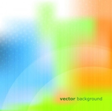 light color blurs vector background