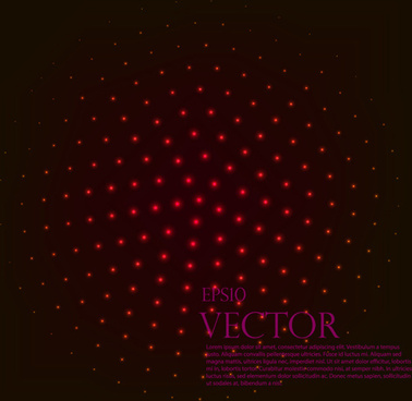 light dot tech background vector