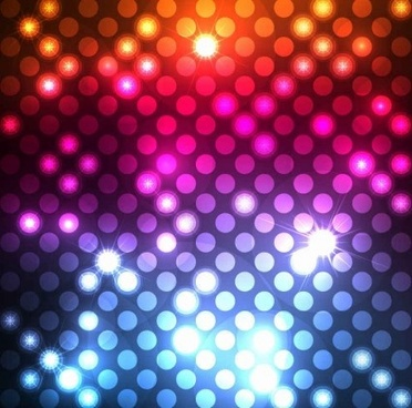 light dots abstract background vector