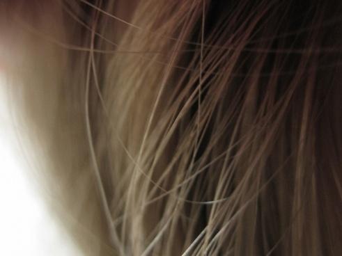 light long hair texture