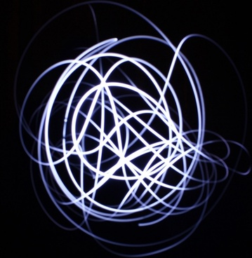 light painting effect
