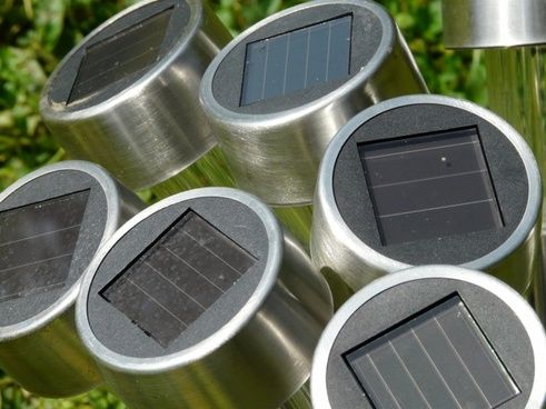 light solar cells lamps