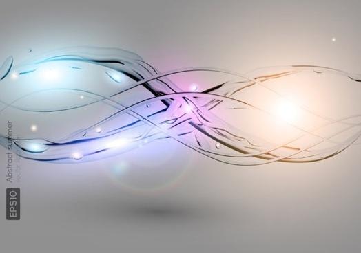 light spray 02 vector